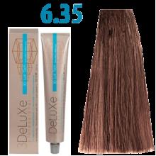 6/35 Стійка крем-фарба для волосся 100 мл 3DELUXЕ