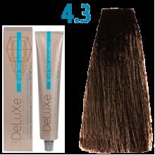 4/3 Стійка крем-фарба для волосся 100 мл 3DELUXЕ