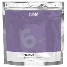 Безаміачна освітлююча пудра 6 тонів для волосся  450г  Subtil Blond (пакет) LAB.DUCASTEL