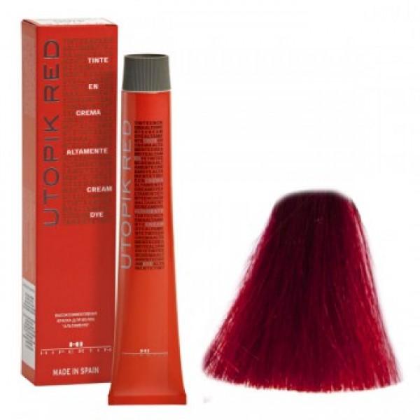 7/66 UTOPIK EXTRA RED стійка фарба для волосся, 60мл HIPERTIN гранат