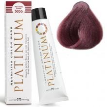 5055 NUTRITIVE COLOR MASK PLATINUM Кольорова, зволожуюча маска для волосся, COPPER RED червоний махагон, 100мл HIPERTIN