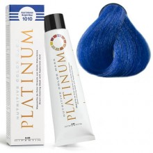 1010 NUTRITIVE COLOR MASK PLATINUM Кольорова, зволожуюча маска для волосся, INTENSE BLUE насичений синій 100мл HIPERTIN