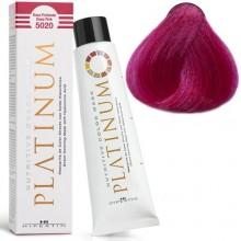 5020 NUTRITIVE COLOR MASK PLATINUM Кольорова, зволожуюча маска для волосся, PROFOUND PINK насичений рожевий 100мл HIPERTIN