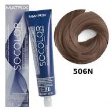 506N СОКОЛОР Б'ЮТІ cтійка крем-фарба для волосся 90мл, MATRIX